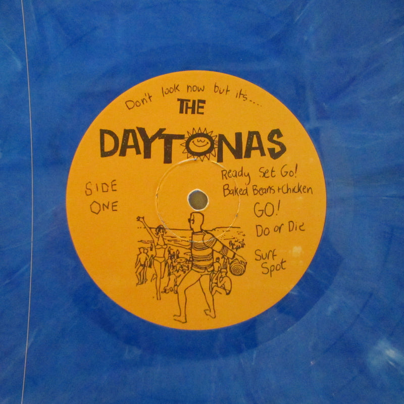 DAYTONAS, THE (ザ・デイトナス)  - Don't Look Now But it's The Daytonas (OZ Ltd.Blue Marble Vinyl LP)