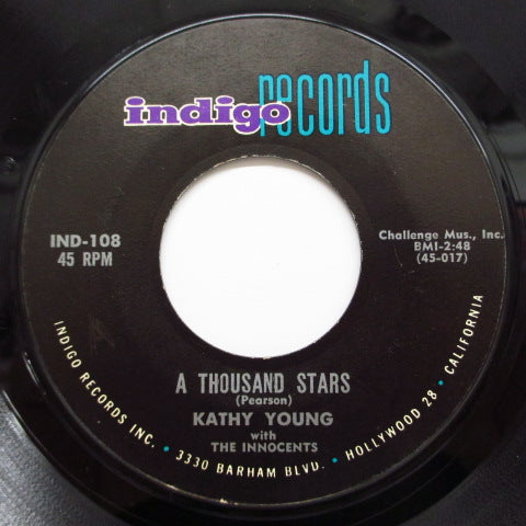 KATHY YOUNG & THE INNOCENTS - A Thousand Stars (2nd Press)