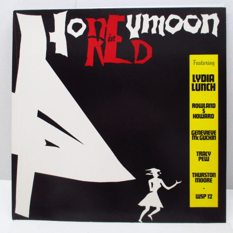 LYDIA LUNCH - Honeymoon In Red (Dutch Orig.LP)