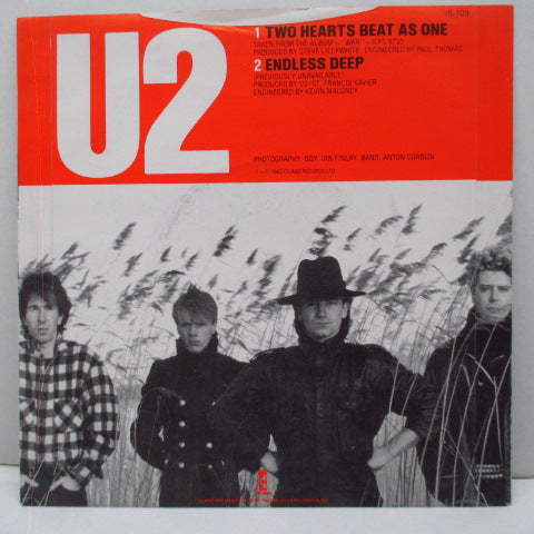 "U2 - Two Hearts Beat As One (UK Orig.7"")"
