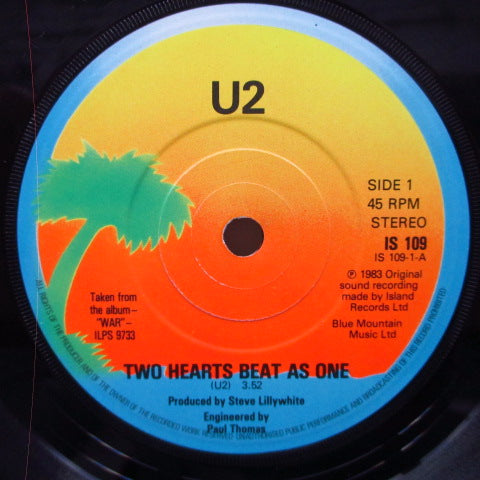 U2-Two Hearts Beat As One (UK Orig.7)