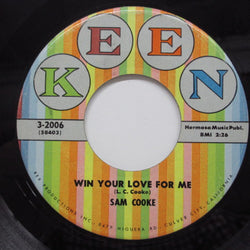 SAM COOKE - Win Your Love For Me (US Orig/Color Lbl)