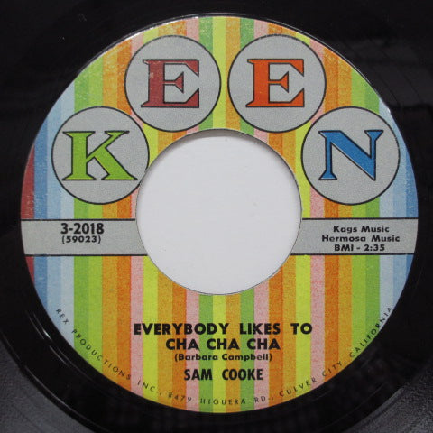 SAM COOKE - Everybody Likes To Cha Cha Cha (Orig)