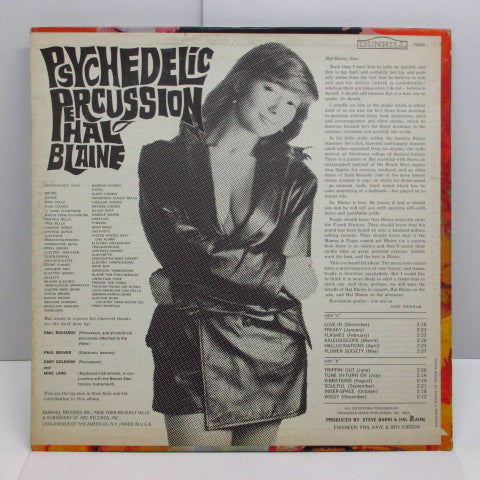 HAL BLAINE - Psychedelic Percussion (US:Orig.MONO)
