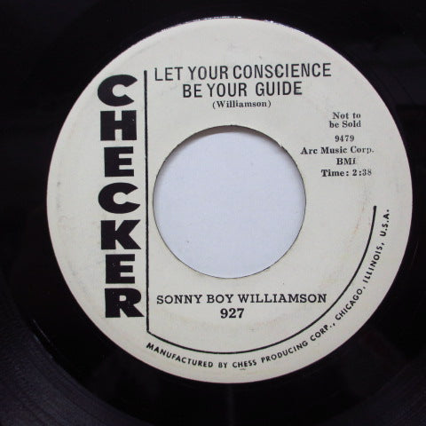SONNY BOY WILLIAMSON - Let Your Conscience Be Your Guide (Promo)