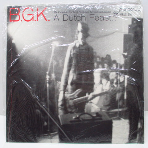 B.G.K. - A Dutch Feast...(US Orig.2xLP+Poster)