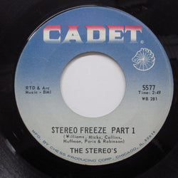 STEREOS - Stereo Freeze (Part 1&2) (Chess Reissue)