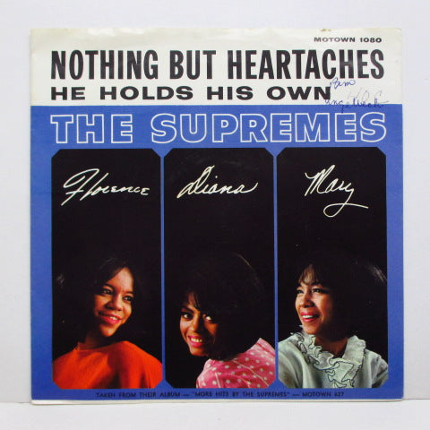 SUPREMES - Nothing But Heartaches (US Orig+PS)