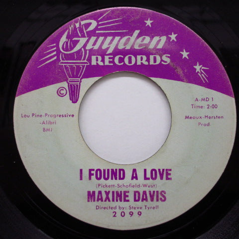 MAXINE DAVIS - He's My Guy / I Found A Love