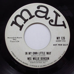 WEE WILLIE DENSON - In My Own Little Way (Promo)