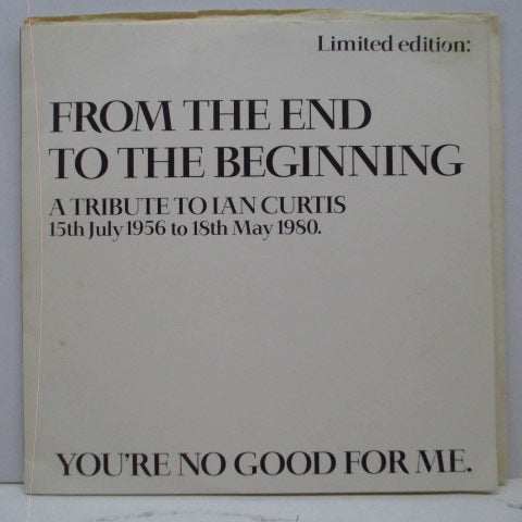 "(JOY DIVISION) - From The End To The Beginning (UK Unofficial.7"")"