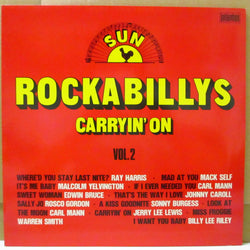 V.A. - Sun Rockabillys Vol.2 / Carryin' On (German Orig.LP)