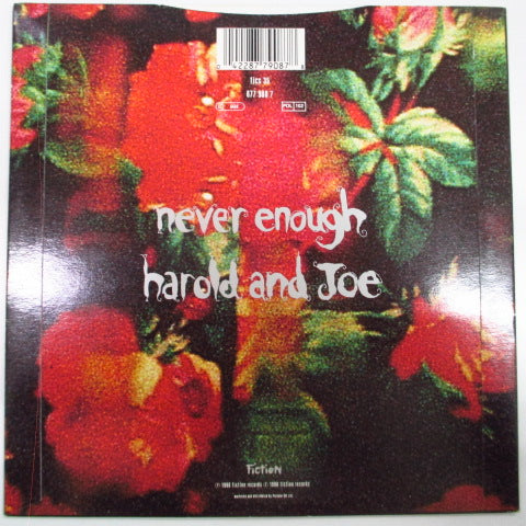 "CURE, THE - Never Enough (UK Orig.7""/Paper Lbl.)"