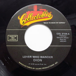 DION / DION & THE BELMONTS - Lovers Who Wander (80's Reissue)