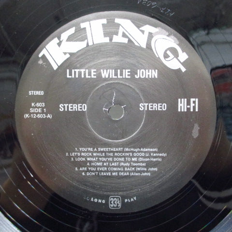 LITTLE WILLIE JOHN - Mister Little Willie John (US:80's STEREO Reissue Black Label)