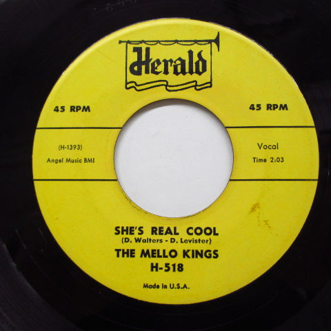 MELLO KINGS (MELLO-KINGS) - She's Real Cool (Orig)
