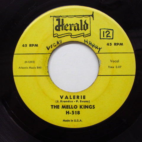 MELLO KINGS (MELLO-KINGS)-She's Real Cool (Orig)