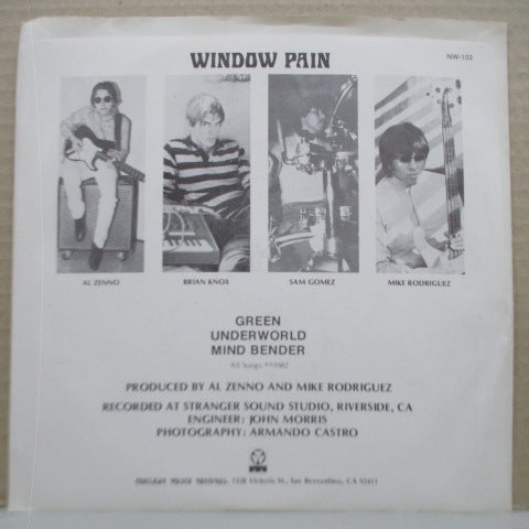 "WINDOW PAIN - S.T. (US Orig.7"")"