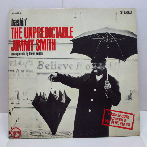 JIMMY SMITH - Bashin' The Unpredictable (US Orig.Stereo LP)