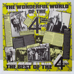 4 SKINS, THE - The Wonderful World Of The 4 Skins (UK Orig.LP)