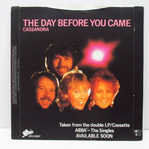 "ABBA - The Day Before You Came (UK Orig.7""+PS/Plastic Lbl.)"