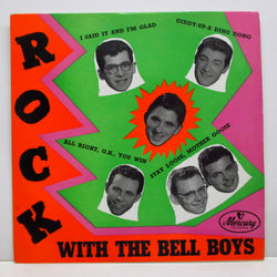 FREDDIE BELL & THE BELLBOYS - Rock With The Bell Boys (UK Orig.EP/CFS)