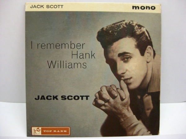 JACK SCOTT - I Remember Hank Williams (UK Orig.EP/CFS)