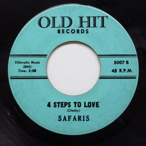 SAFARIS - 4 Steps To Love (70's Reissue)