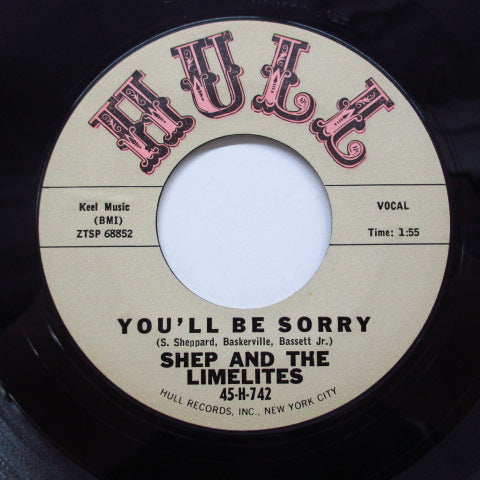 SHEP & THE LIMELITES - You'll Be Sorry (2nd Press)