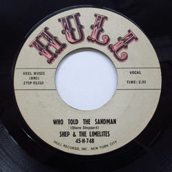 SHEP & THE LIMELITES - Who Told The Sandman (Orig)