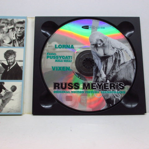 O.S.T. - Russ Meyer's Soundtracks Lorna/Vixen/ Faster,Pussycat! Kill! Kill!(German Digipack CD)