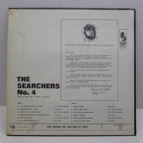 SEARCHERS - No.4 (US:Orig.MONO)
