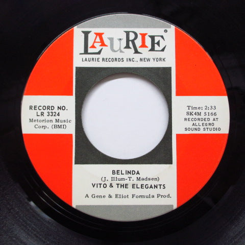 VITO & THE ELEGANTS - Belinda (Orig)