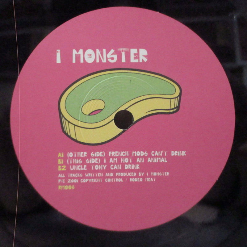 "I MONSTER - French Mods Can't Drink (UK 500 Ltd.7""/Numbered CVR)"