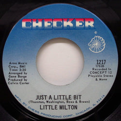 LITTLE MILTON - Just A Little Bit / Spring