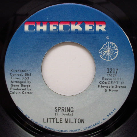 LITTLE MILTON - Just A Little Bit / Spring (Orig)