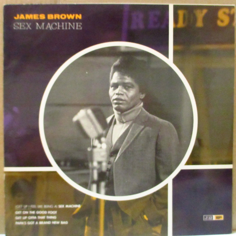 "JAMES BROWN (ジェイムス・ブラウン)  - Sex Machine +3 (UK Reissue 12"")"