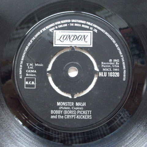 BOBBY (BORIS) PICKETT - Monster Mash (UK 70's Reissue)