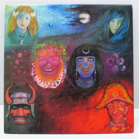 KING CRIMSON - In The Wake Of Poseidon (UK 2nd Press LP/Textured GS #2)