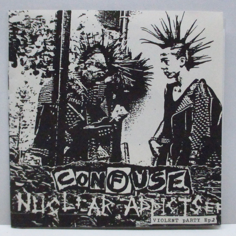 CONFUSE - Nuclear Addicts E.P. (Japan Orig.FLEXI)