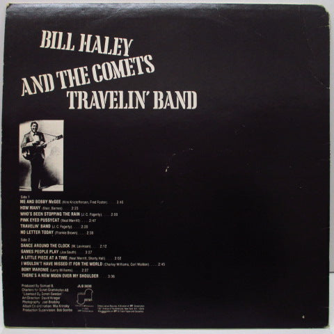 BILL HALEY & HIS COMETS - Travelin' Band (US Orig.Stereo LP)