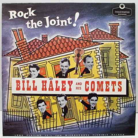 BILL HALEY & HIS COMETS - Rock The Joint! (黒×銀ラベ)