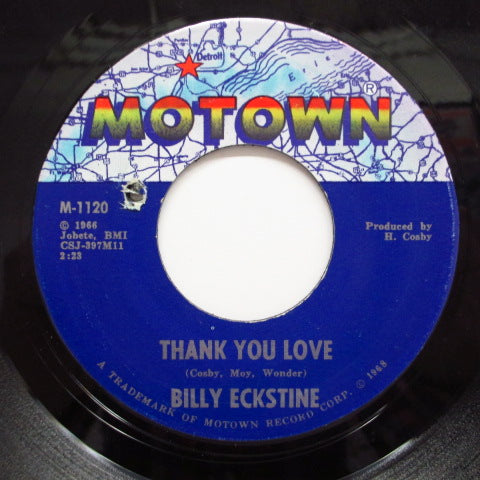 BILLY ECKSTINE - Thank You Love (Orig.)