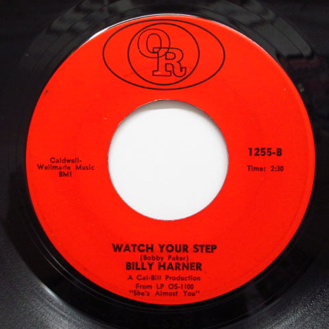 BILLY HARNER - Watch Your Step / I Struck It Rich