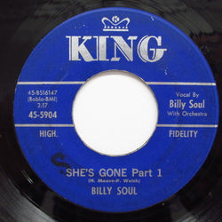 BILLY SOUL - She's Gone (Part 1 & 2) (Orig.)