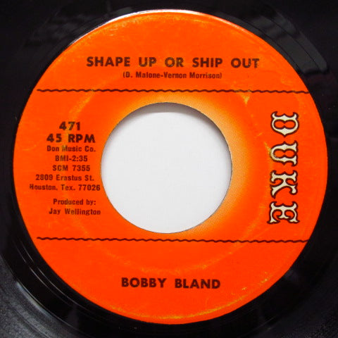 BOBBY BLAND - Shape Up Or Ship Out (Orig.)