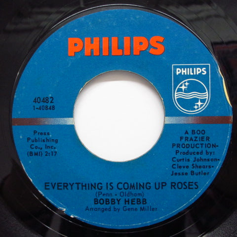 BOBBY HEBB - Everything Is Coming Up Roses (Orig.)