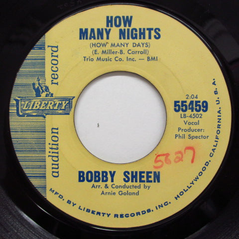 BOBBY SHEEN - How Many Nights (Promo)
