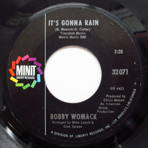 BOBBY WOMACK - It's Gonna Rain / Thank You (Orig.)