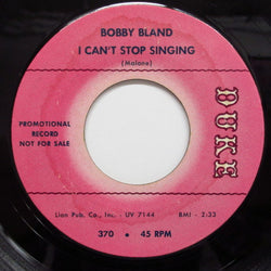 BOBBY BLAND - I Can't Stop Singing (Promo)